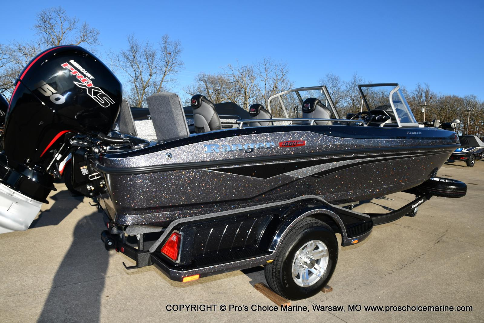 2021 Ranger Boats boat for sale, model of the boat is 1880MS Angler w/150HP Pro-XS & Image # 37 of 50
