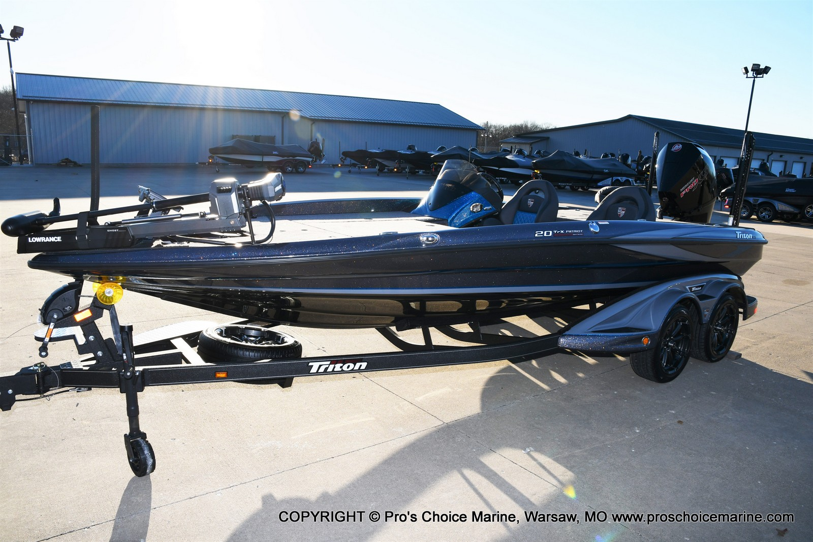 2021 Triton boat for sale, model of the boat is 20 TRX Patriot & Image # 24 of 50