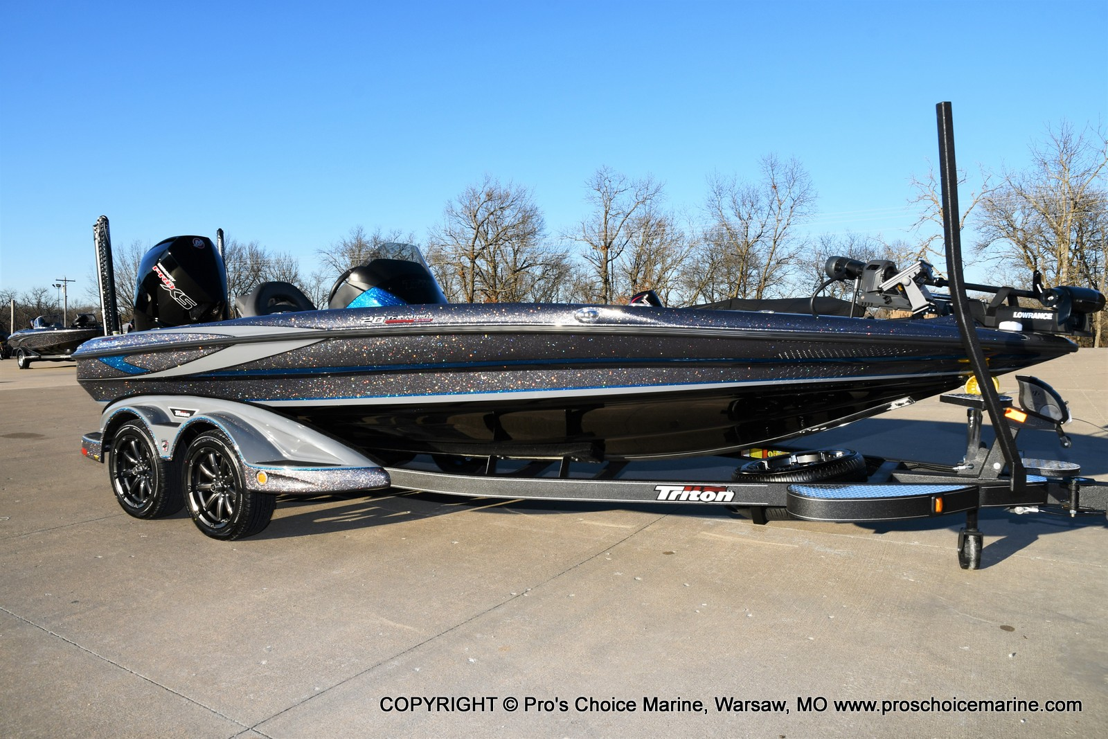 2021 Triton boat for sale, model of the boat is 20 TRX Patriot & Image # 8 of 50