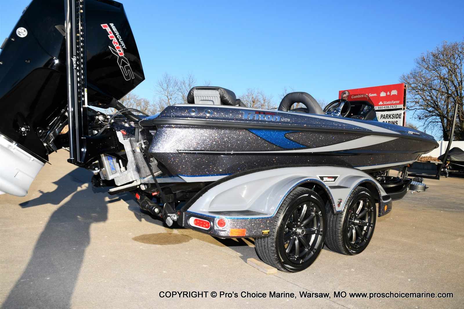2021 Triton boat for sale, model of the boat is 20 TRX Patriot & Image # 9 of 50