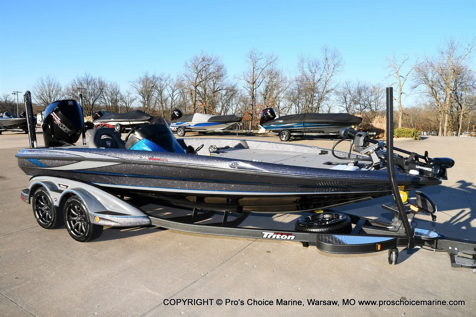 2021 Triton boat for sale, model of the boat is 20 TRX Patriot & Image # 1 of 50