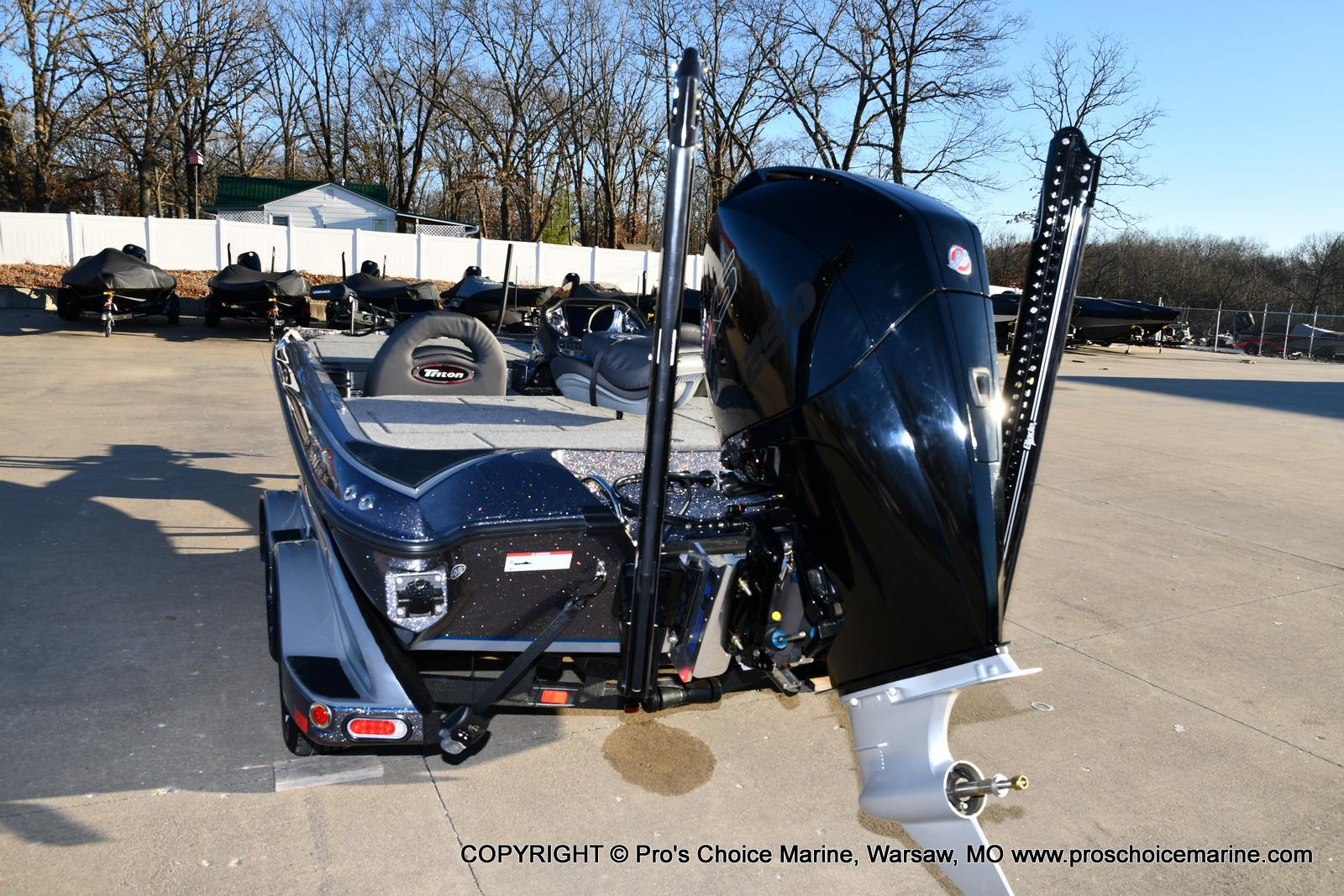2021 Triton boat for sale, model of the boat is 20 TRX Patriot & Image # 11 of 50