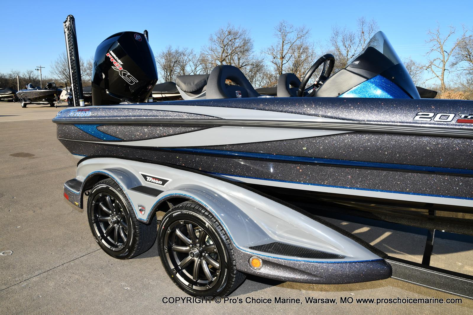 2021 Triton boat for sale, model of the boat is 20 TRX Patriot & Image # 22 of 50