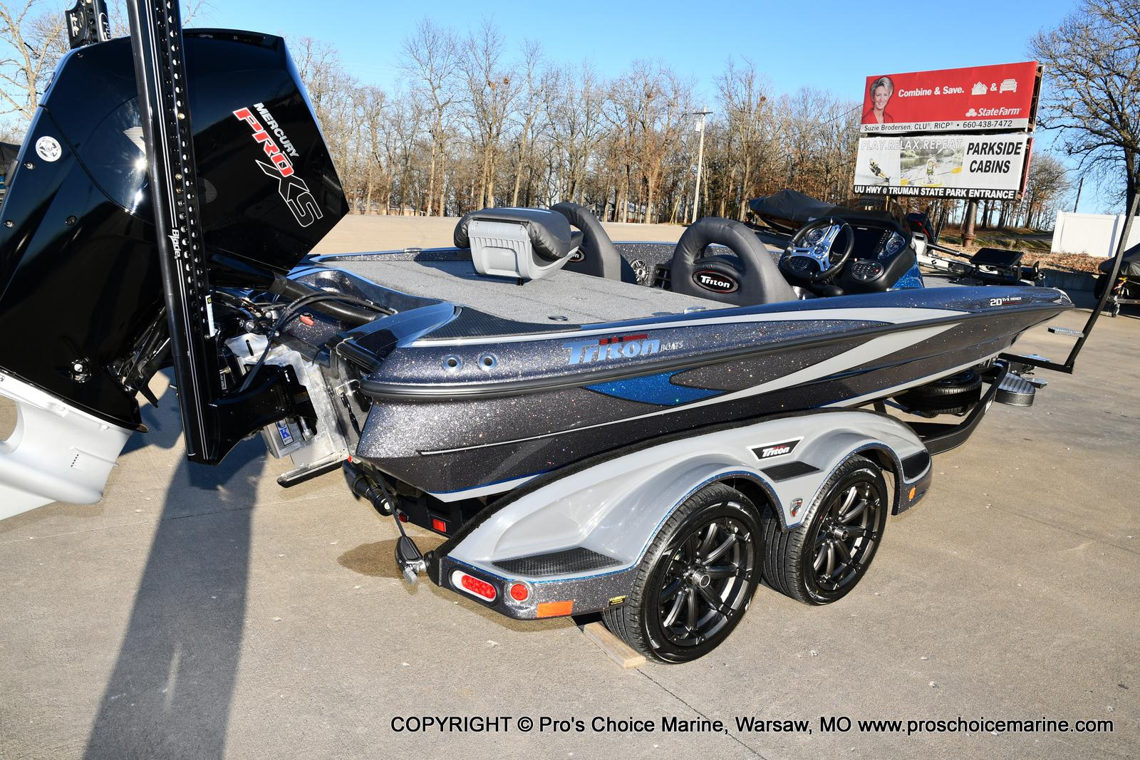 2021 Triton boat for sale, model of the boat is 20 TRX Patriot & Image # 23 of 50