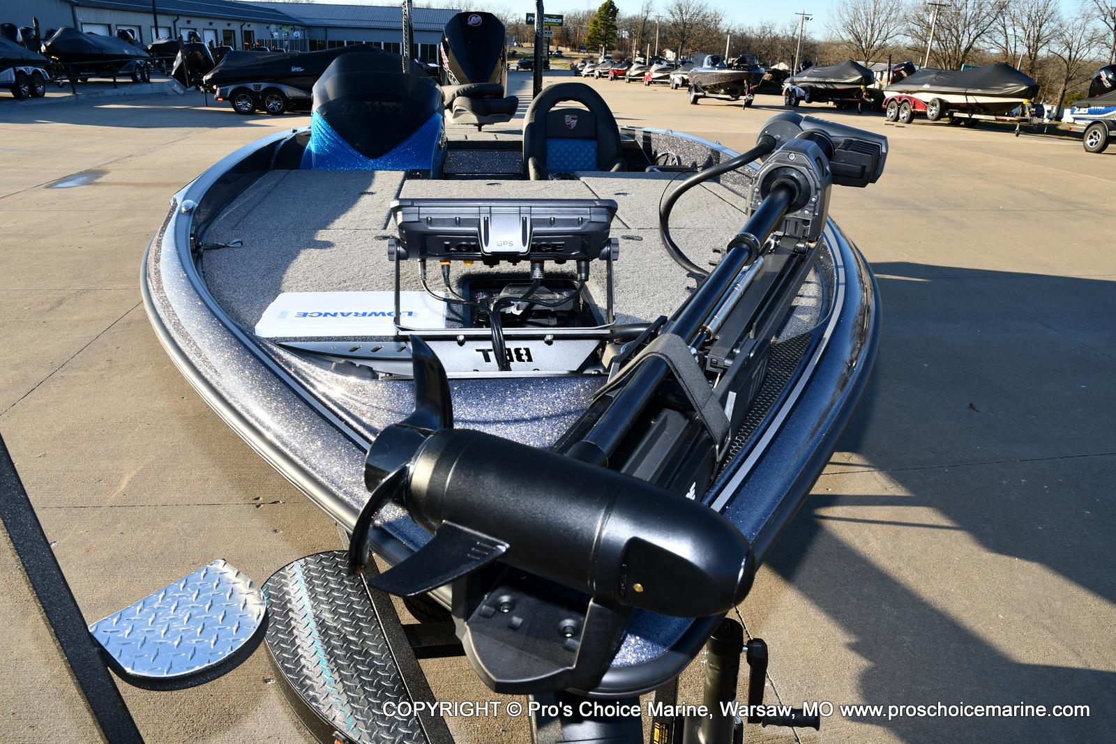 2021 Triton boat for sale, model of the boat is 20 TRX Patriot & Image # 38 of 50
