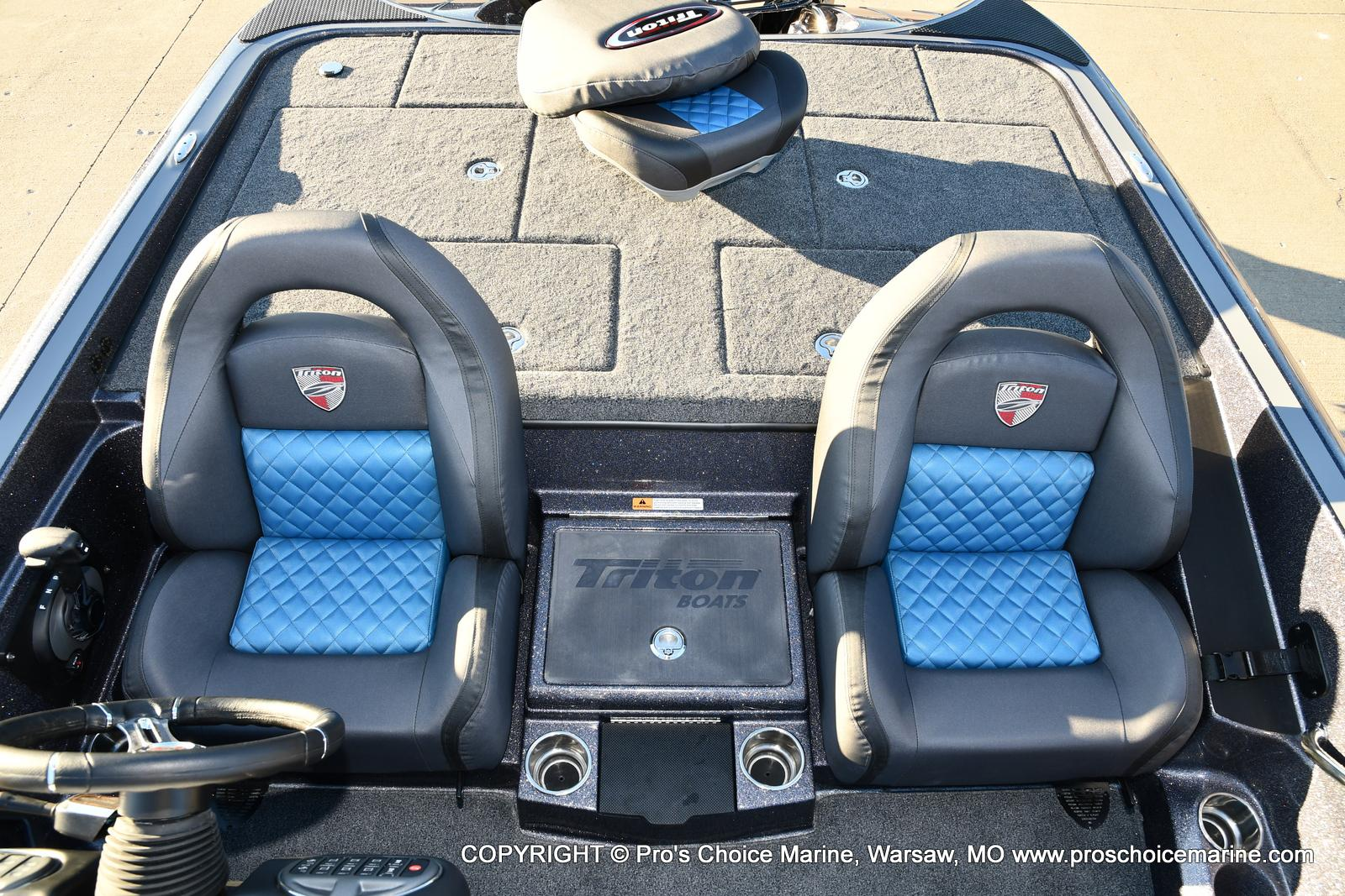 2021 Triton boat for sale, model of the boat is 20 TRX Patriot & Image # 47 of 50