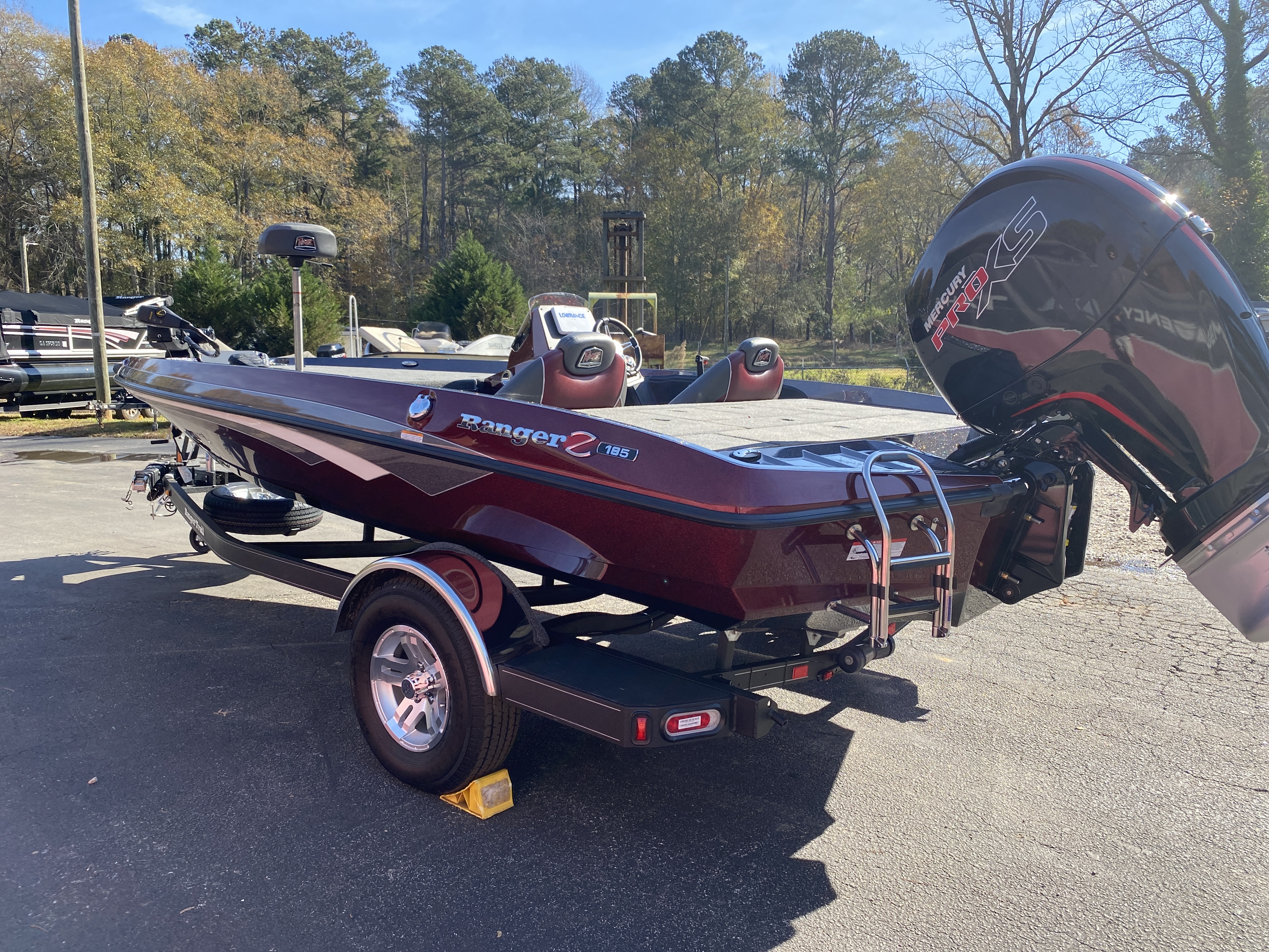 2021 Ranger Boats boat for sale, model of the boat is Z185 & Image # 37 of 50