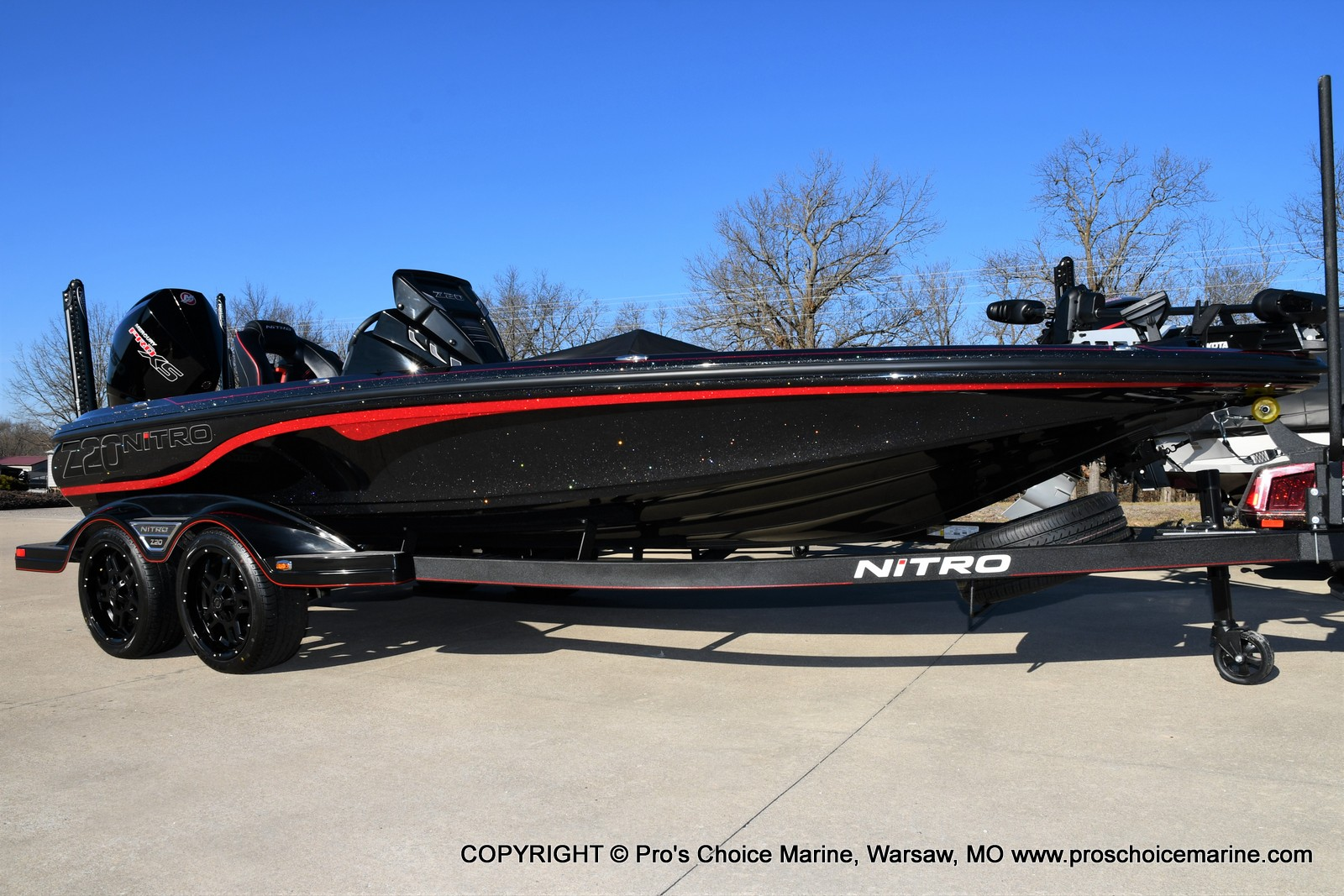 2021 Nitro boat for sale, model of the boat is Z20 PRO PACKAGE & Image # 17 of 50