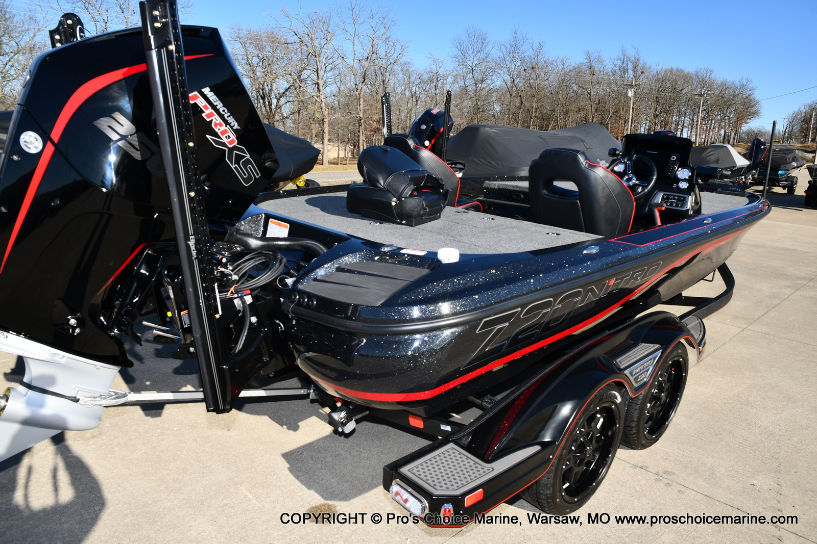 2021 Nitro boat for sale, model of the boat is Z20 PRO PACKAGE & Image # 3 of 50