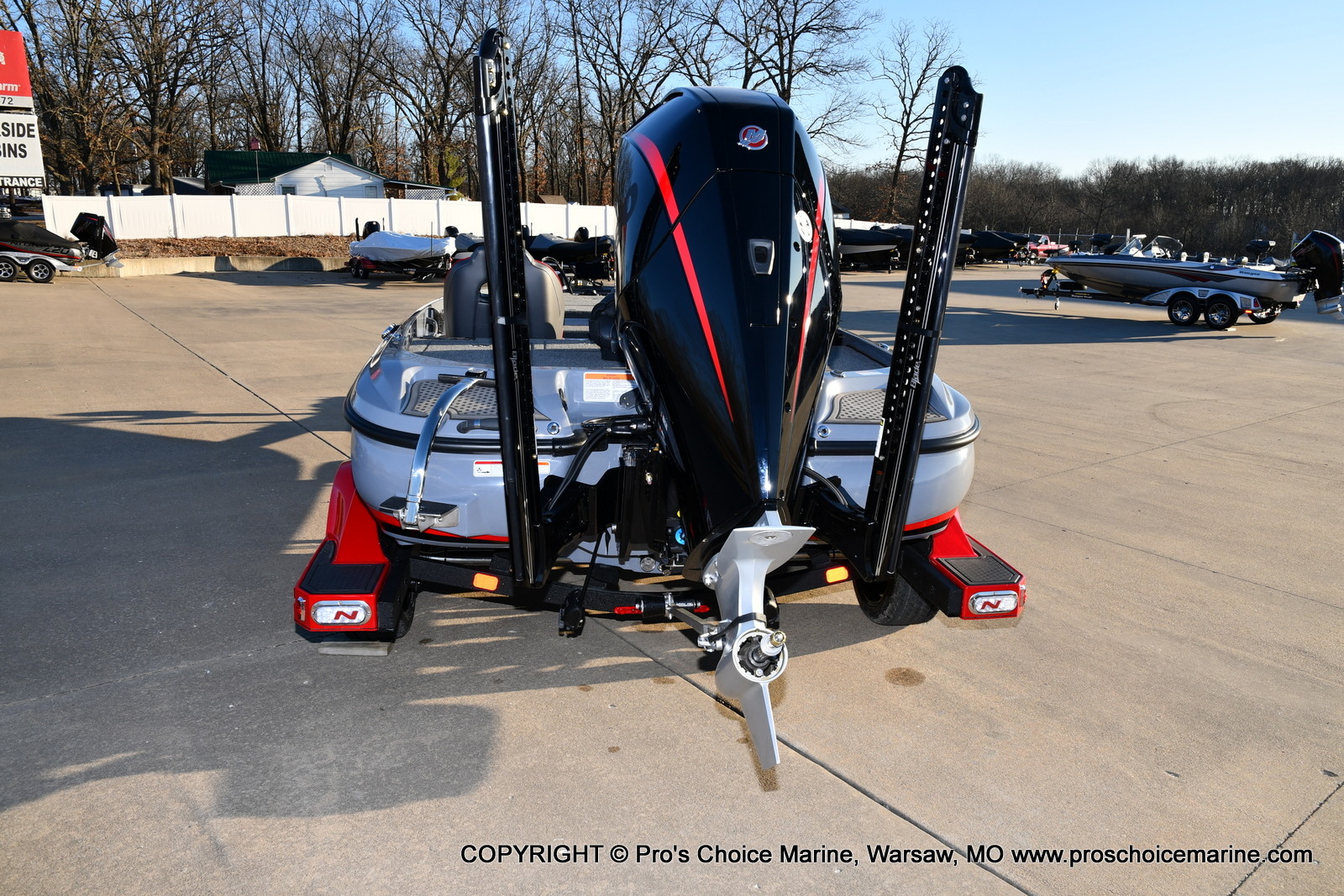 2021 Nitro boat for sale, model of the boat is Z21 Pro Package & Image # 47 of 50