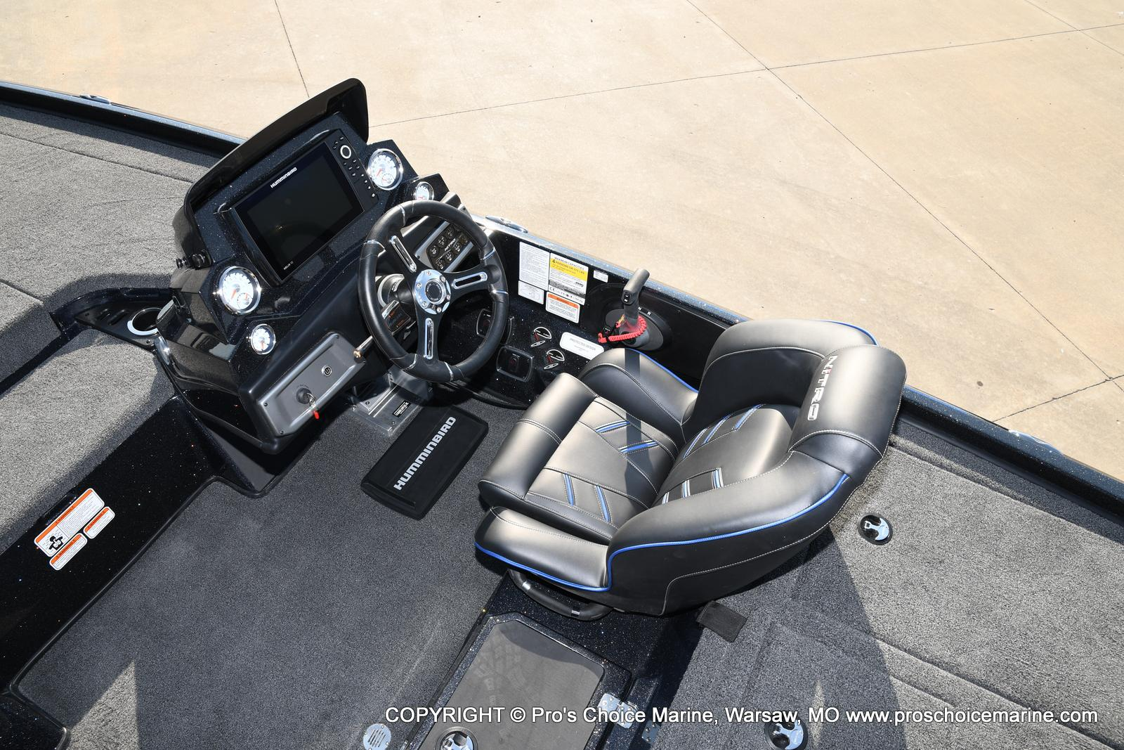 2021 Nitro boat for sale, model of the boat is Z20 PRO PACKAGE & Image # 6 of 50