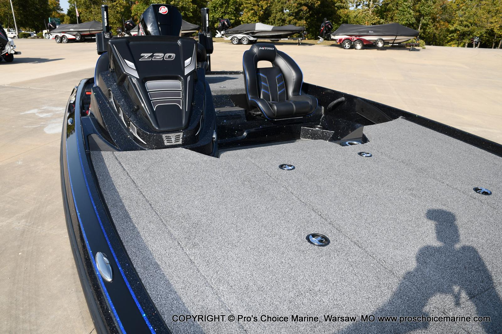 2021 Nitro boat for sale, model of the boat is Z20 PRO PACKAGE & Image # 35 of 50