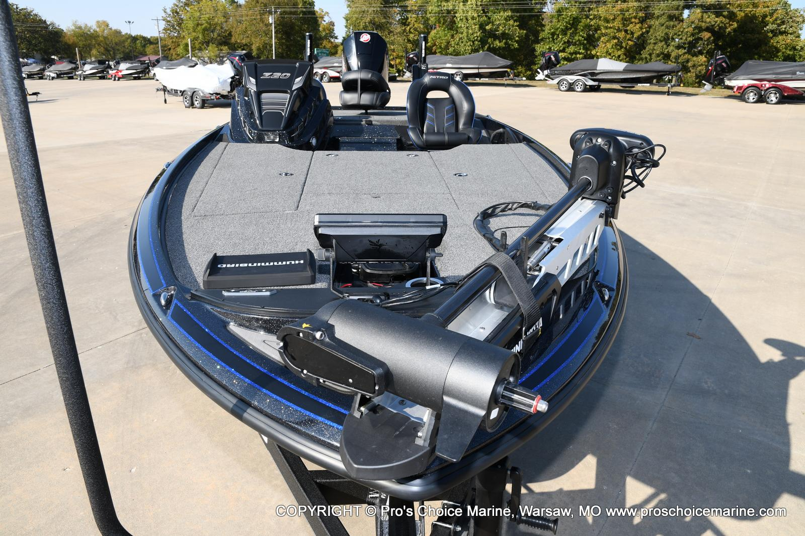 2021 Nitro boat for sale, model of the boat is Z20 PRO PACKAGE & Image # 46 of 50
