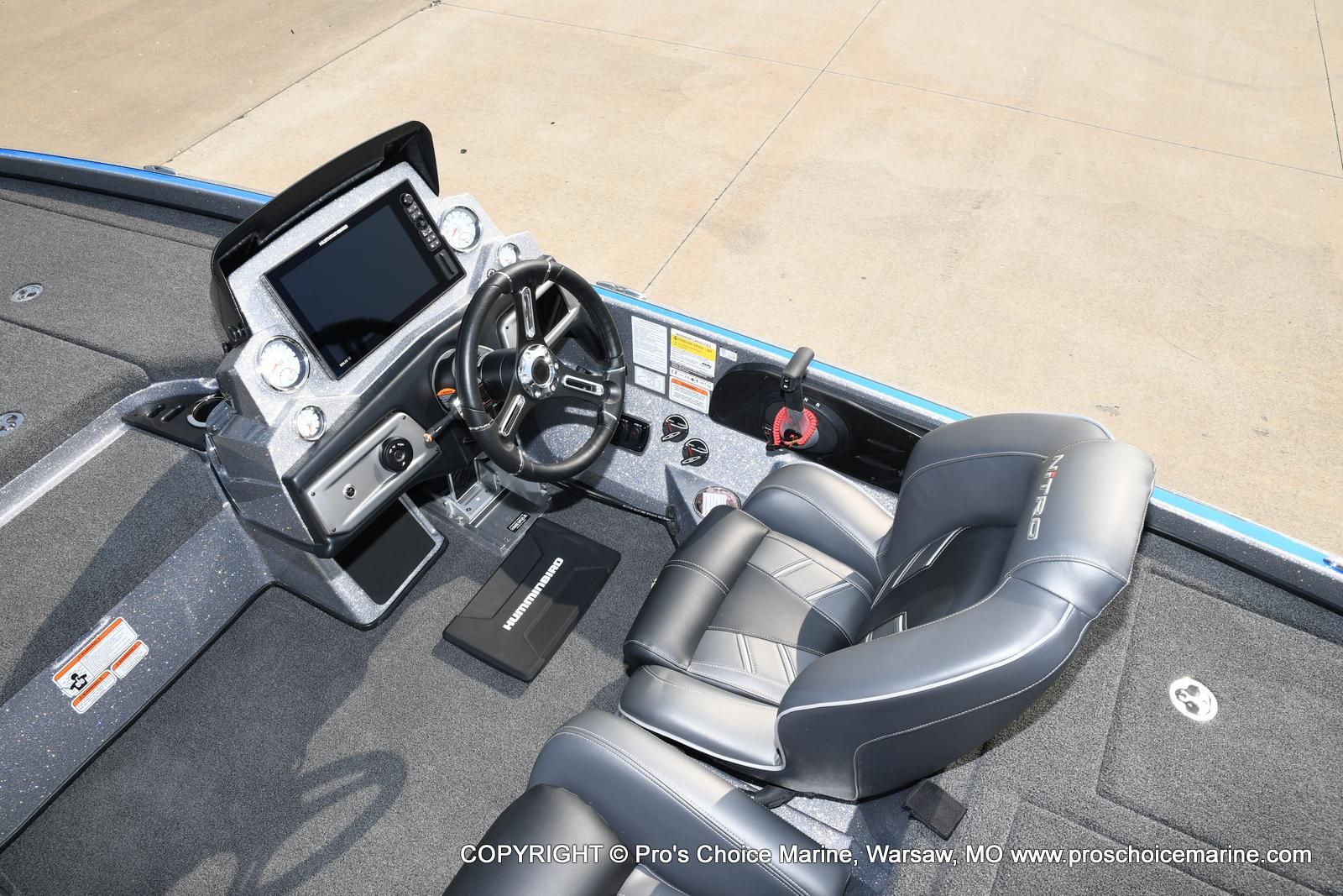 2021 Nitro boat for sale, model of the boat is Z21 Pro Package & Image # 21 of 50