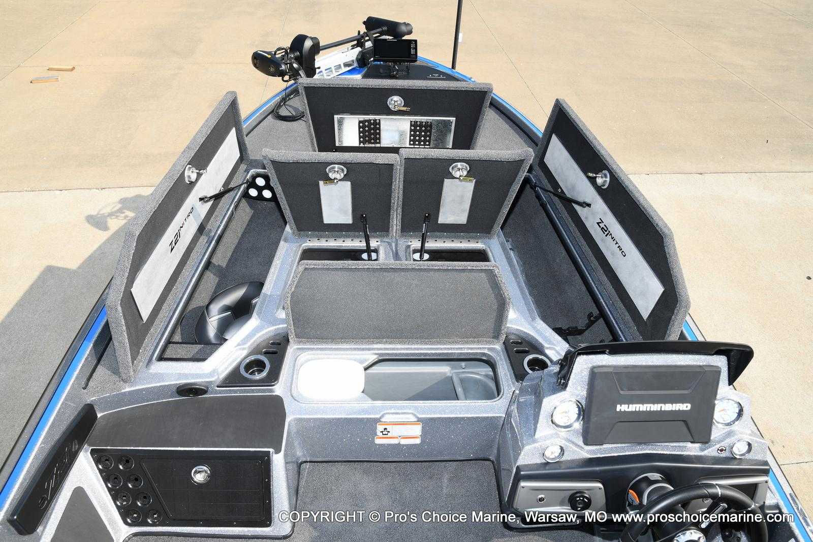 2021 Nitro boat for sale, model of the boat is Z21 Pro Package & Image # 25 of 50