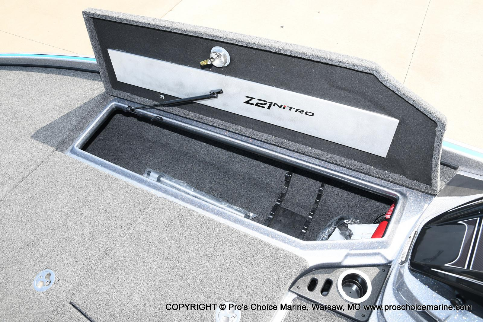 2021 Nitro boat for sale, model of the boat is Z21 Pro Package & Image # 40 of 50