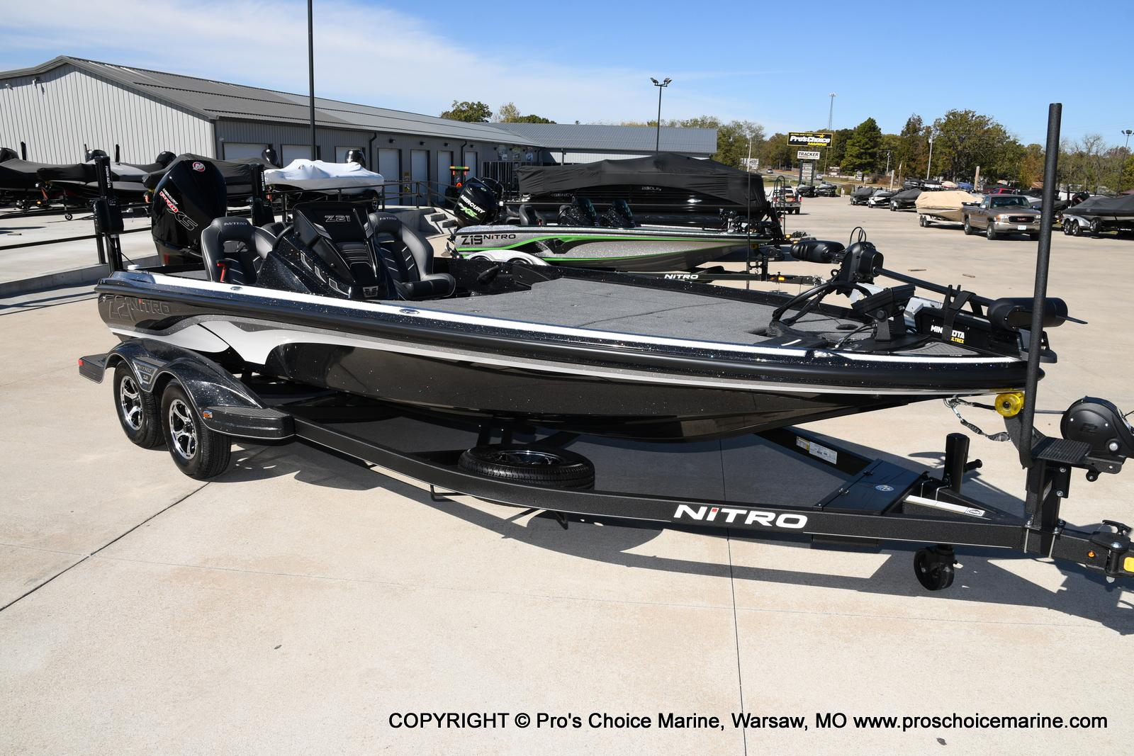2021 Nitro boat for sale, model of the boat is Z21 Pro Package & Image # 50 of 50
