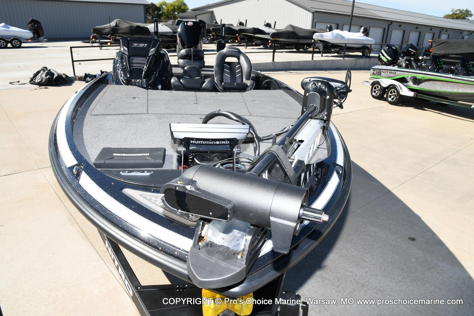2021 Nitro boat for sale, model of the boat is Z21 Pro Package & Image # 20 of 50