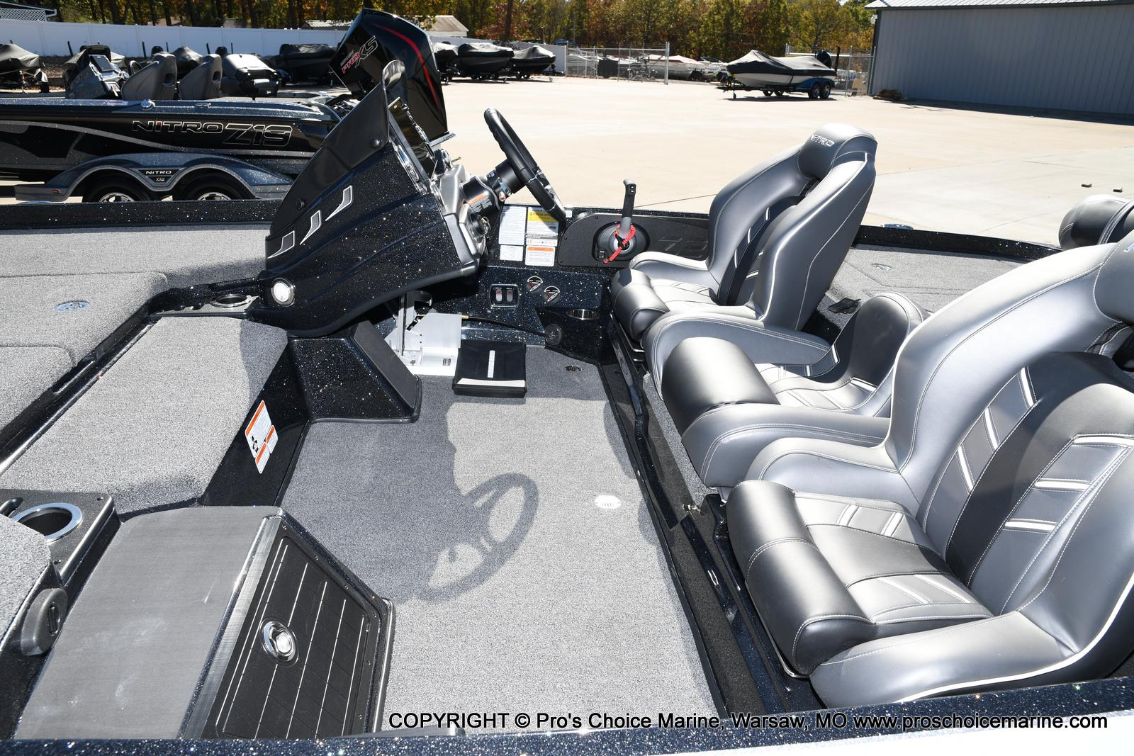 2021 Nitro boat for sale, model of the boat is Z21 Pro Package & Image # 39 of 50