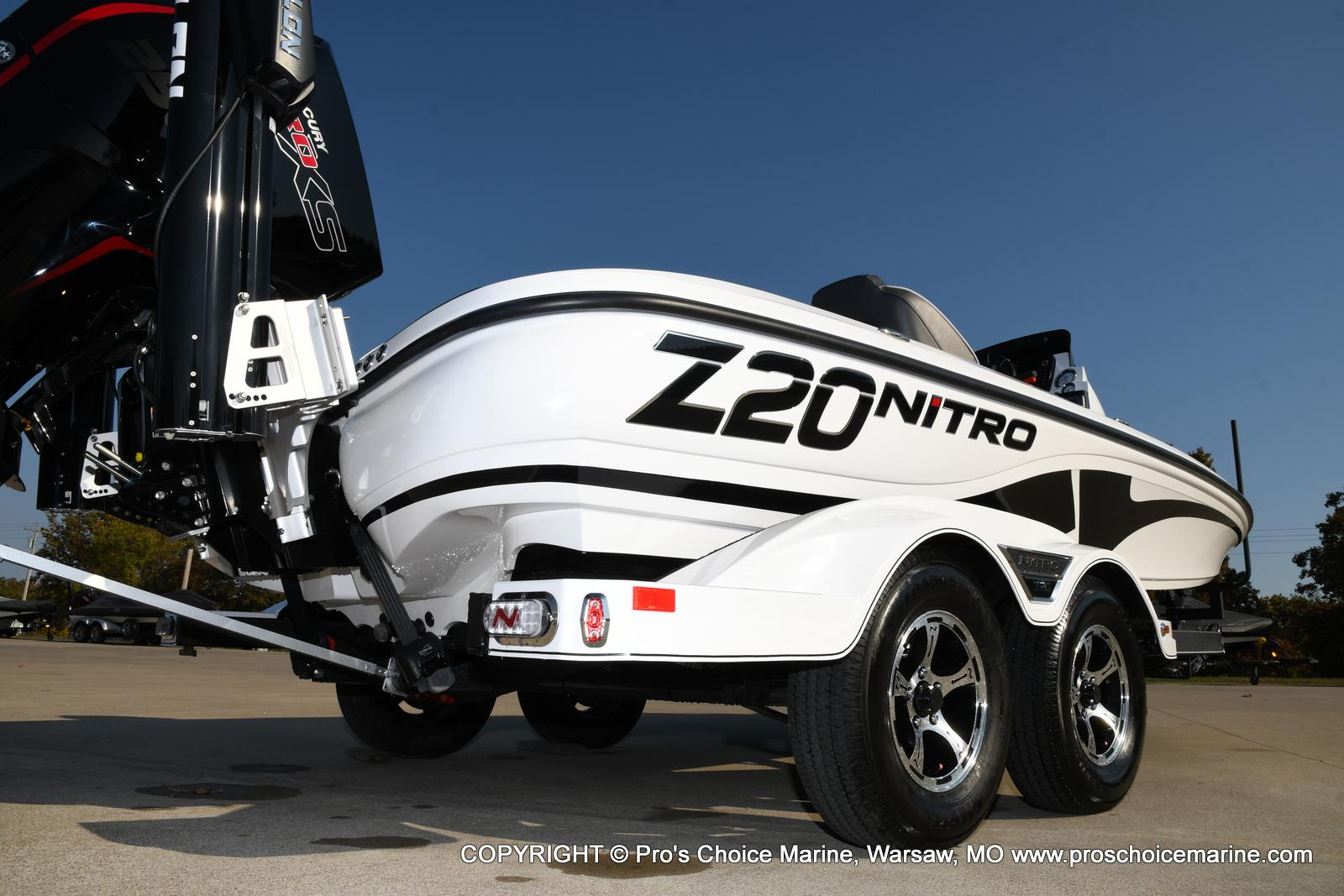 2021 Nitro boat for sale, model of the boat is Z20 PRO PACKAGE & Image # 22 of 50