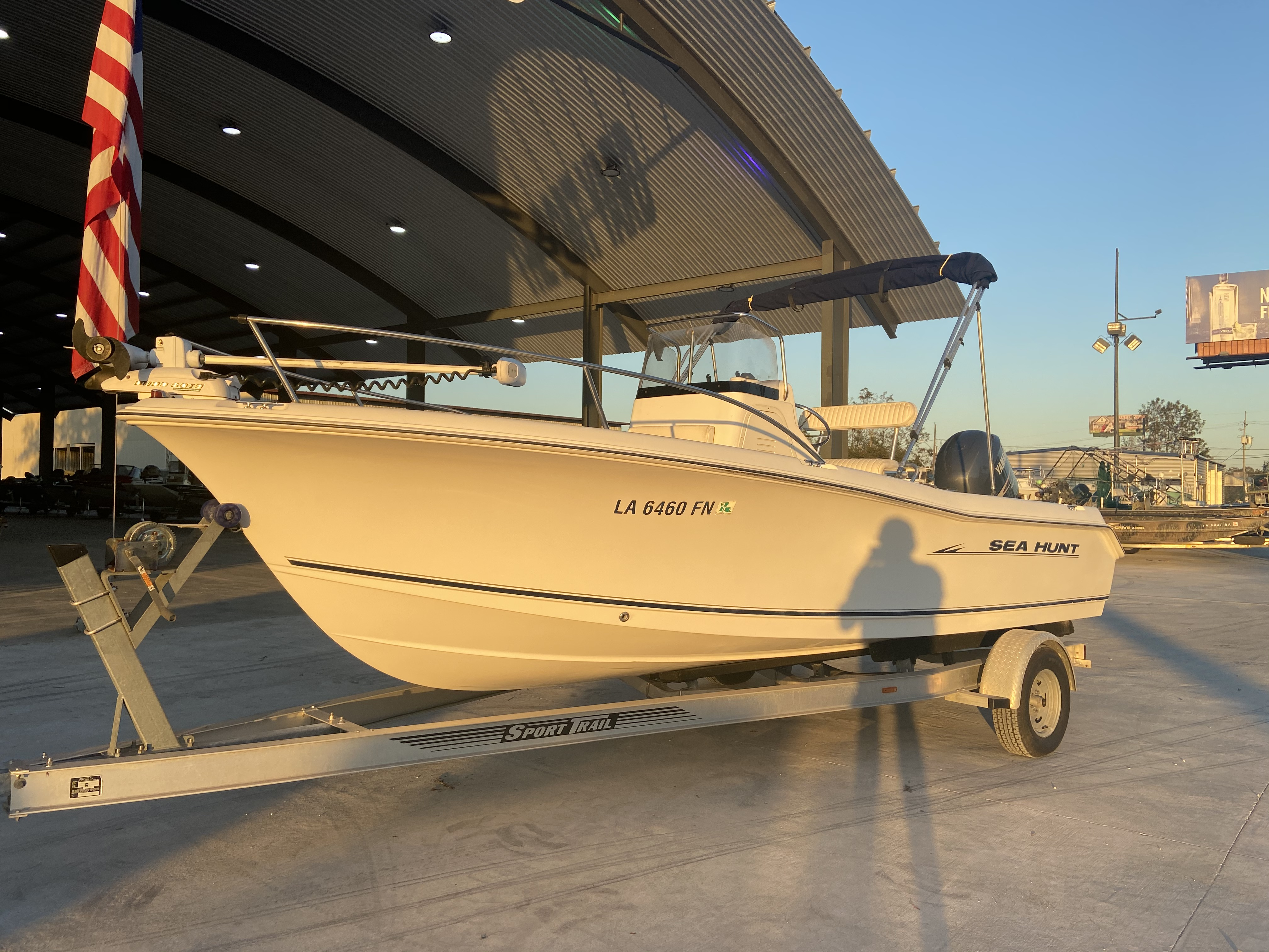 2007 Sea Hunt boat for sale, model of the boat is 207 Triton & Image # 2 of 28