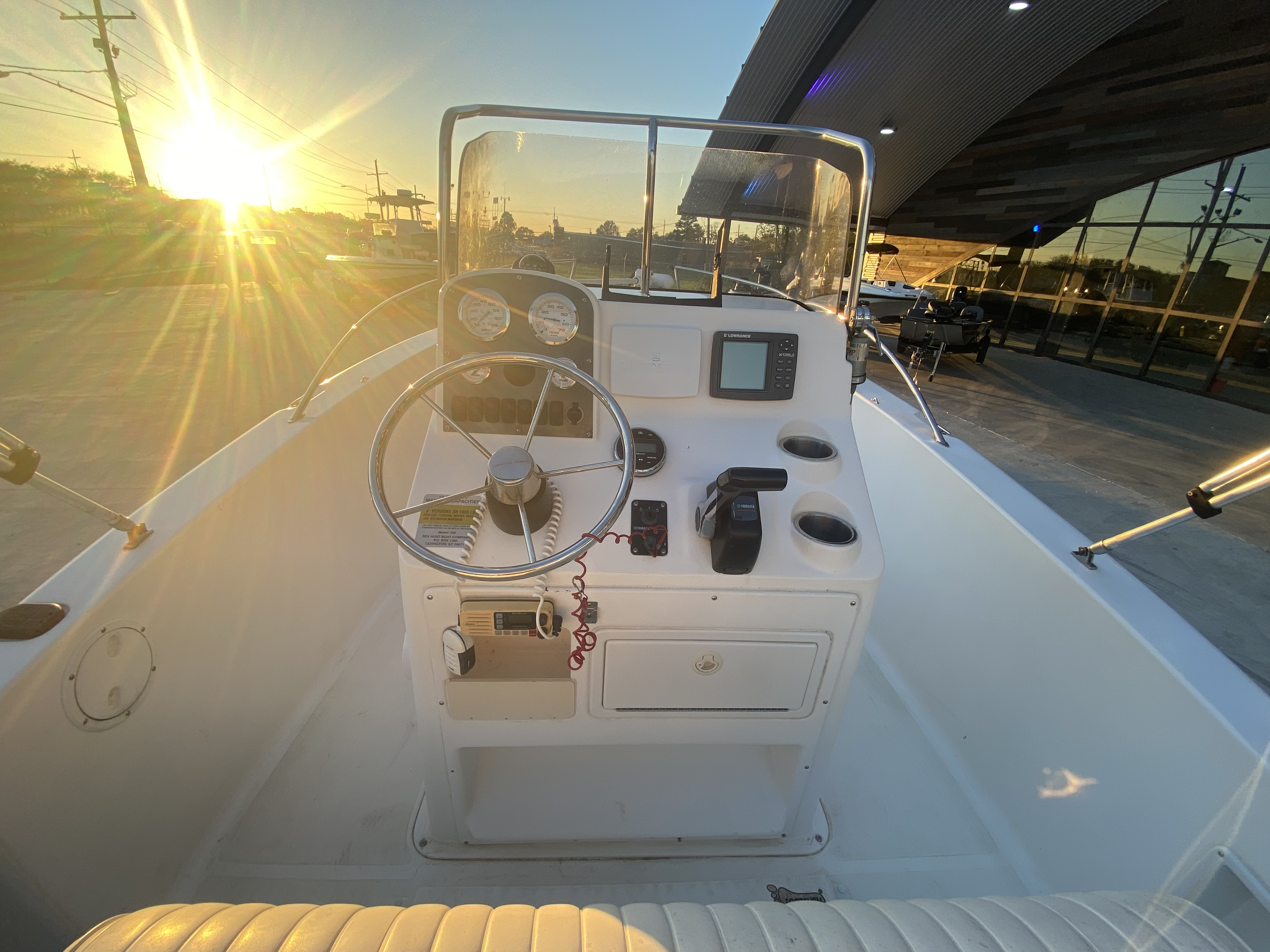 2007 Sea Hunt boat for sale, model of the boat is 207 Triton & Image # 4 of 28