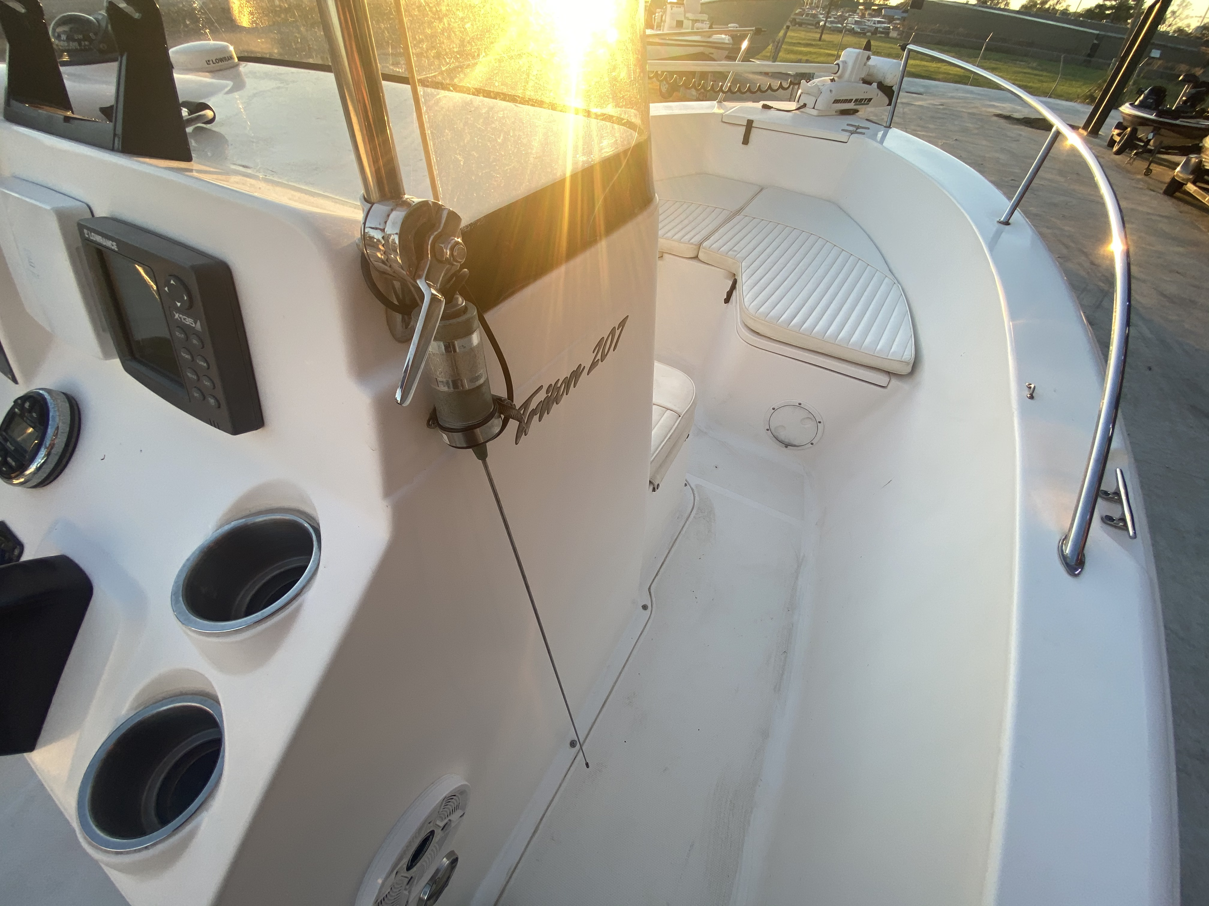 2007 Sea Hunt boat for sale, model of the boat is 207 Triton & Image # 19 of 28