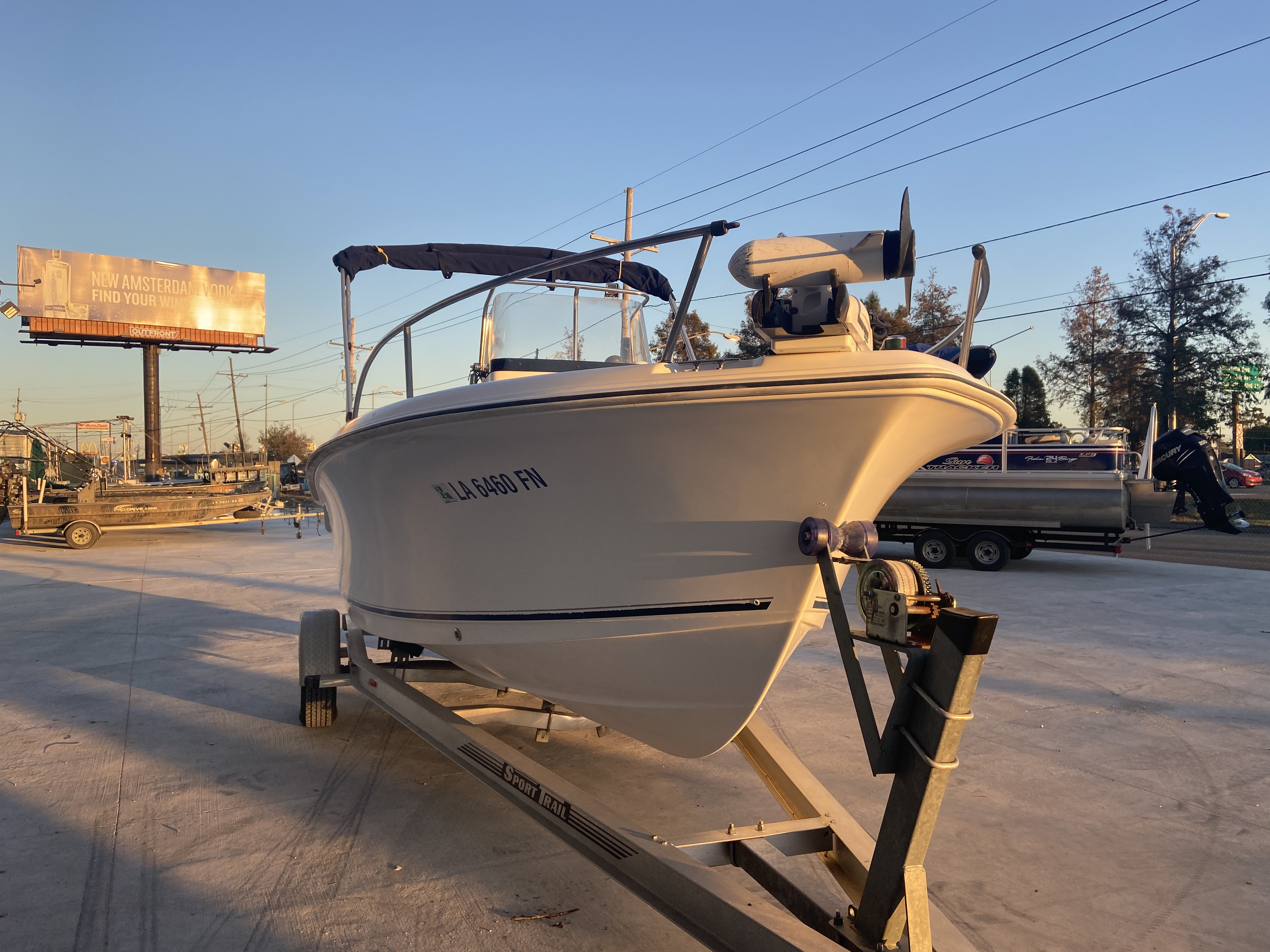 2007 Sea Hunt boat for sale, model of the boat is 207 Triton & Image # 21 of 28