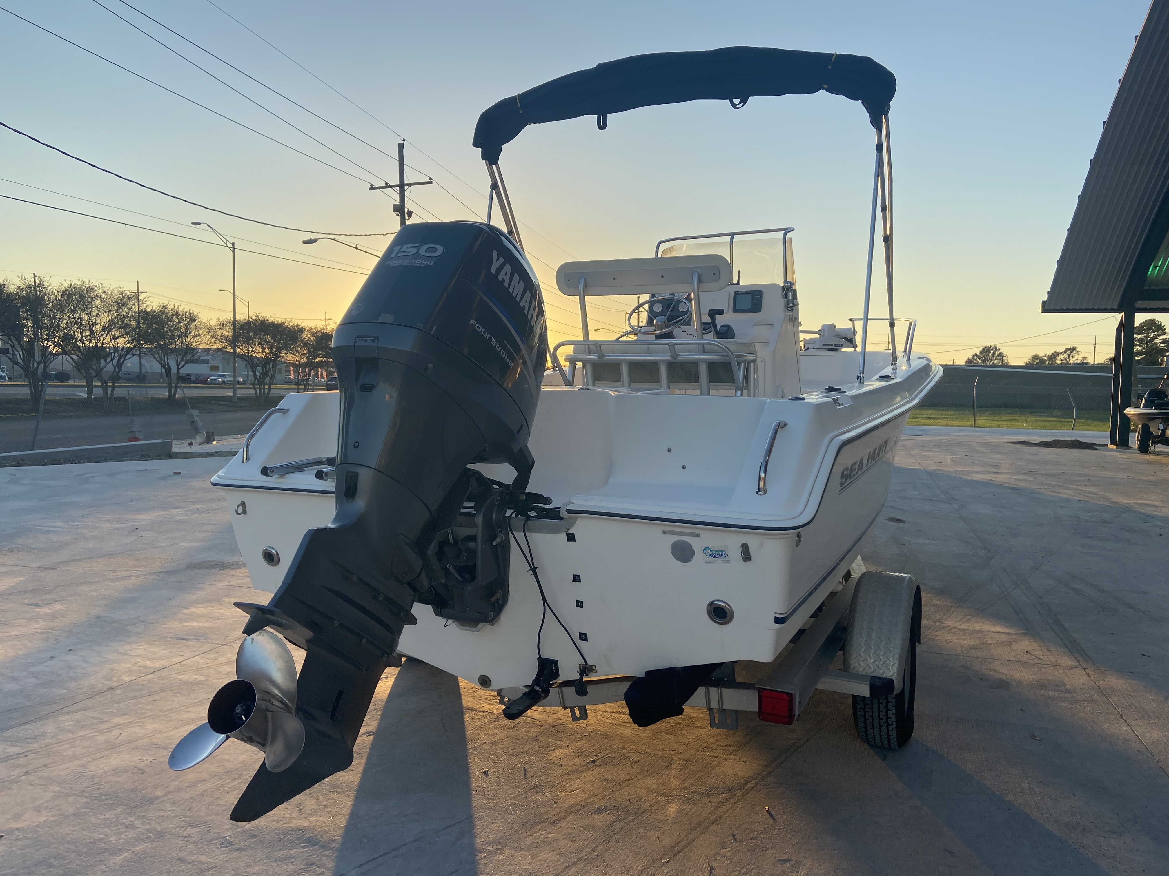 2007 Sea Hunt boat for sale, model of the boat is 207 Triton & Image # 22 of 28