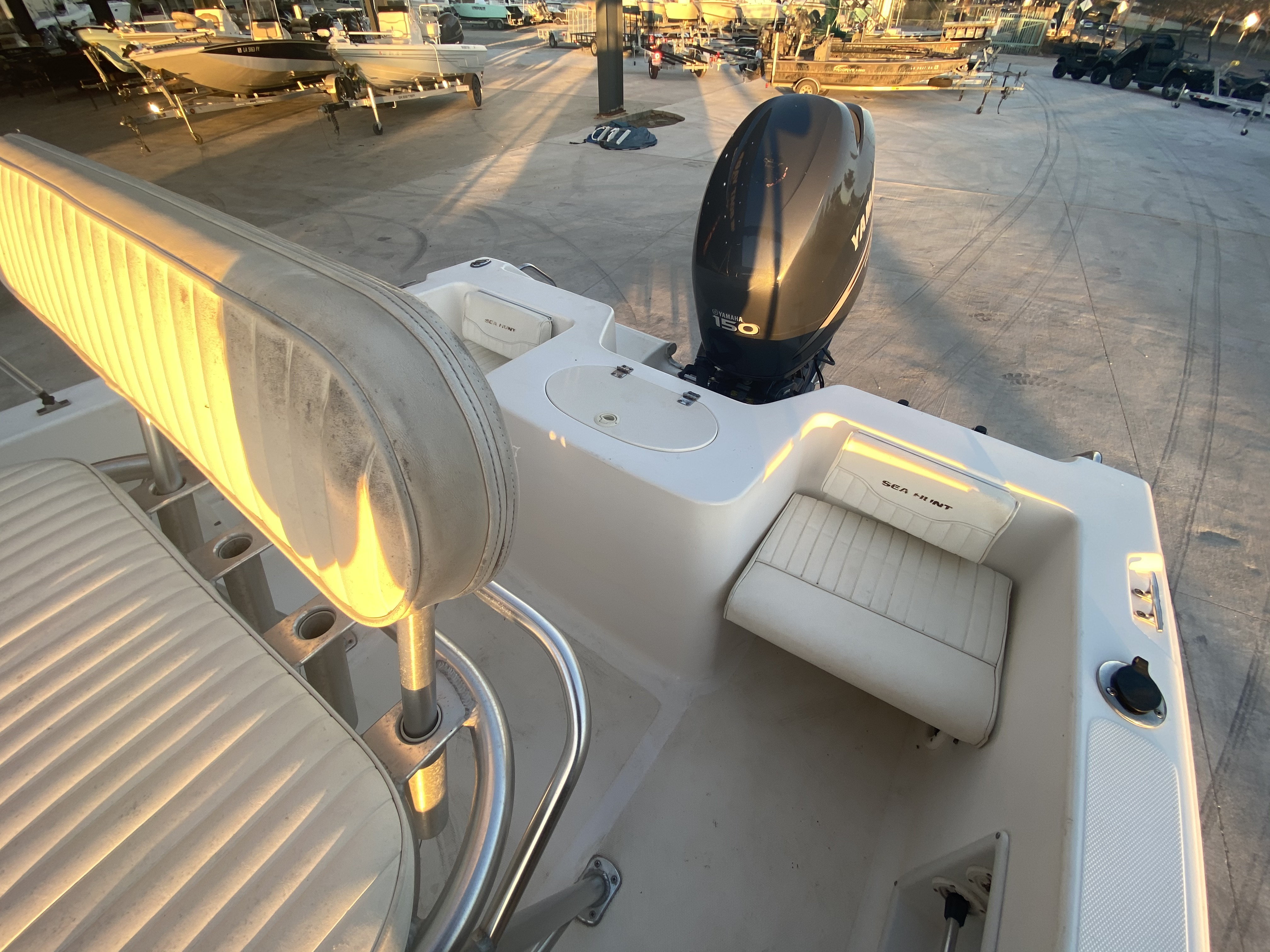 2007 Sea Hunt boat for sale, model of the boat is 207 Triton & Image # 24 of 28