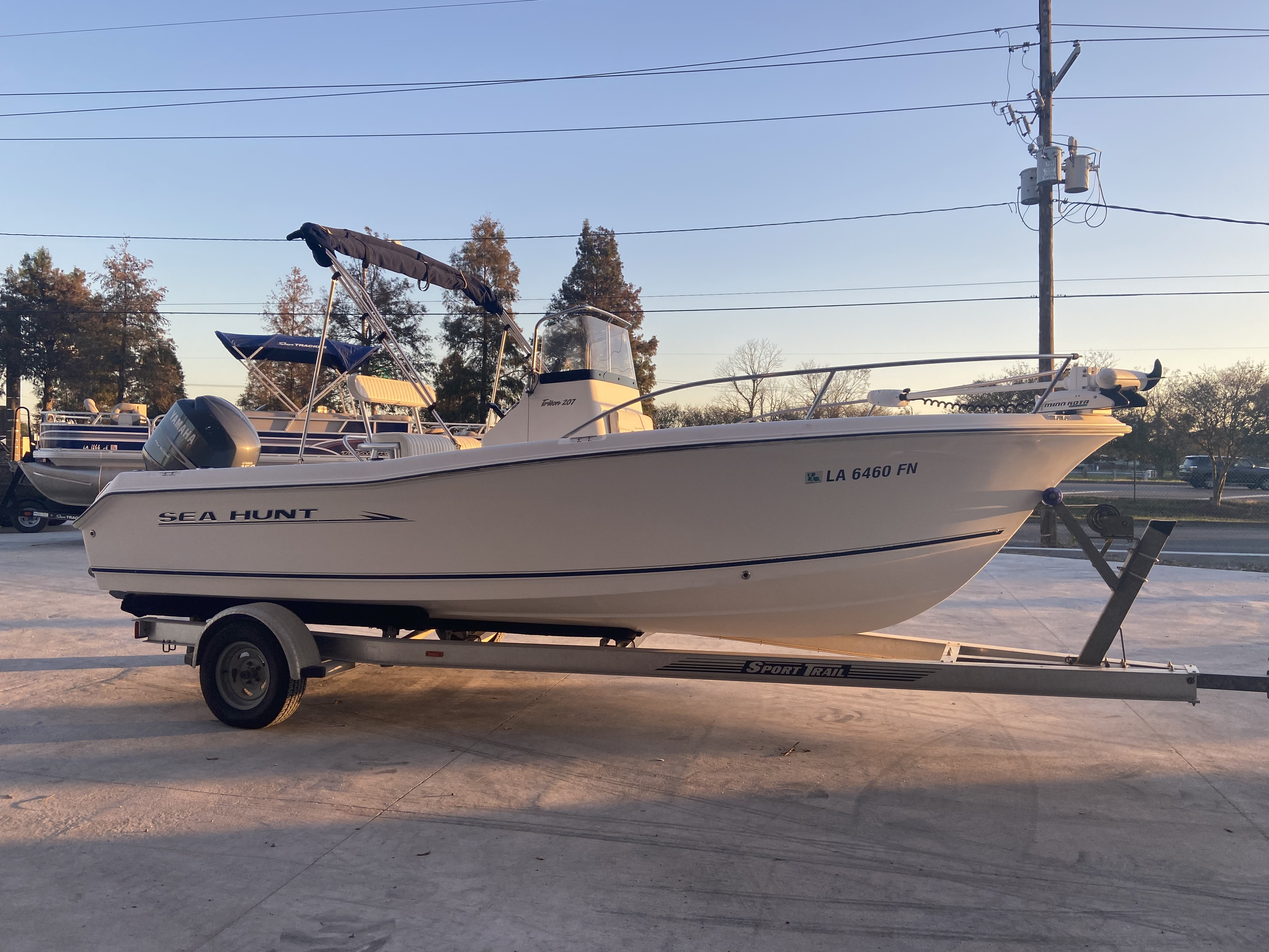 2007 Sea Hunt boat for sale, model of the boat is 207 Triton & Image # 26 of 28