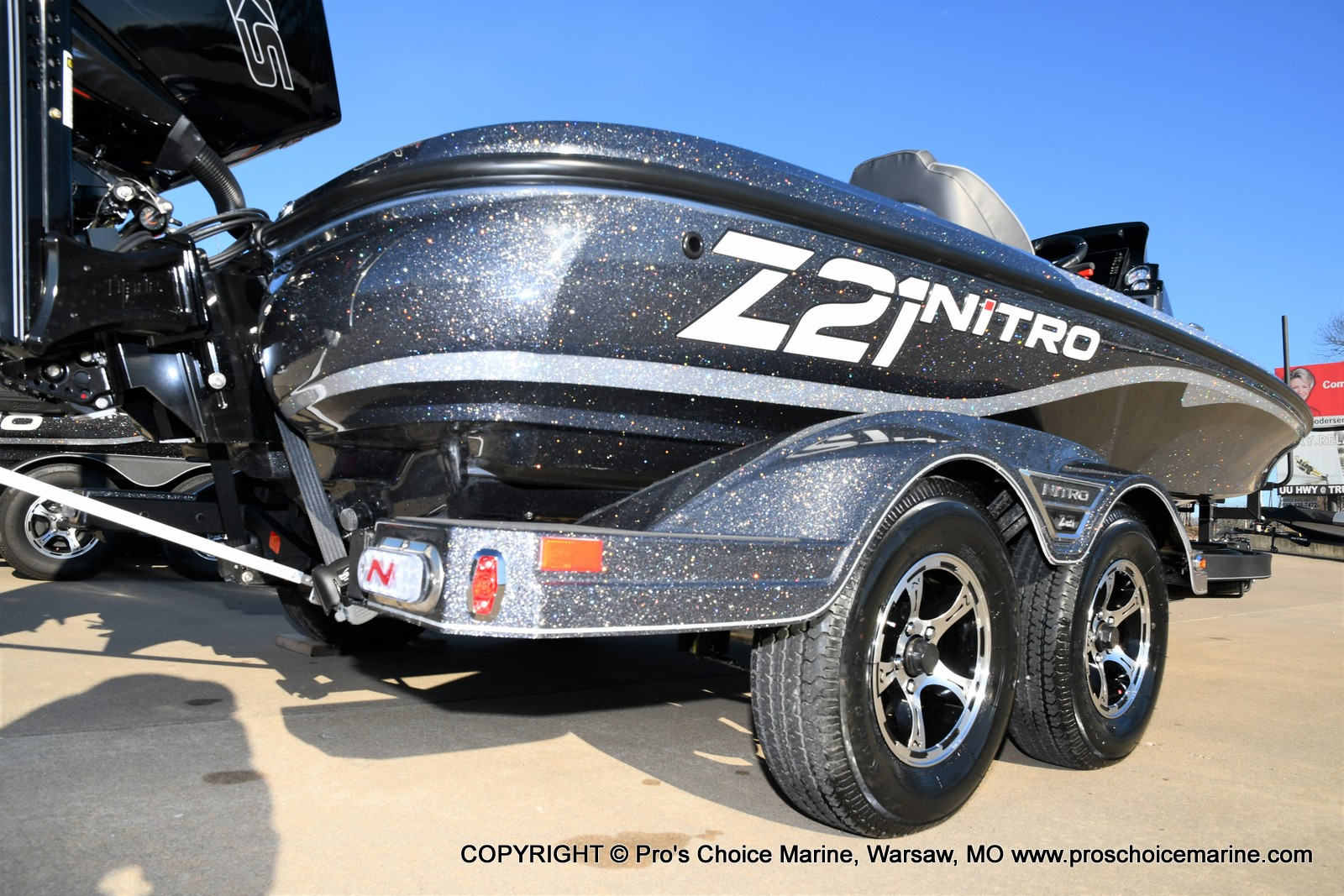 2021 Nitro boat for sale, model of the boat is Z21 Pro Package & Image # 13 of 50