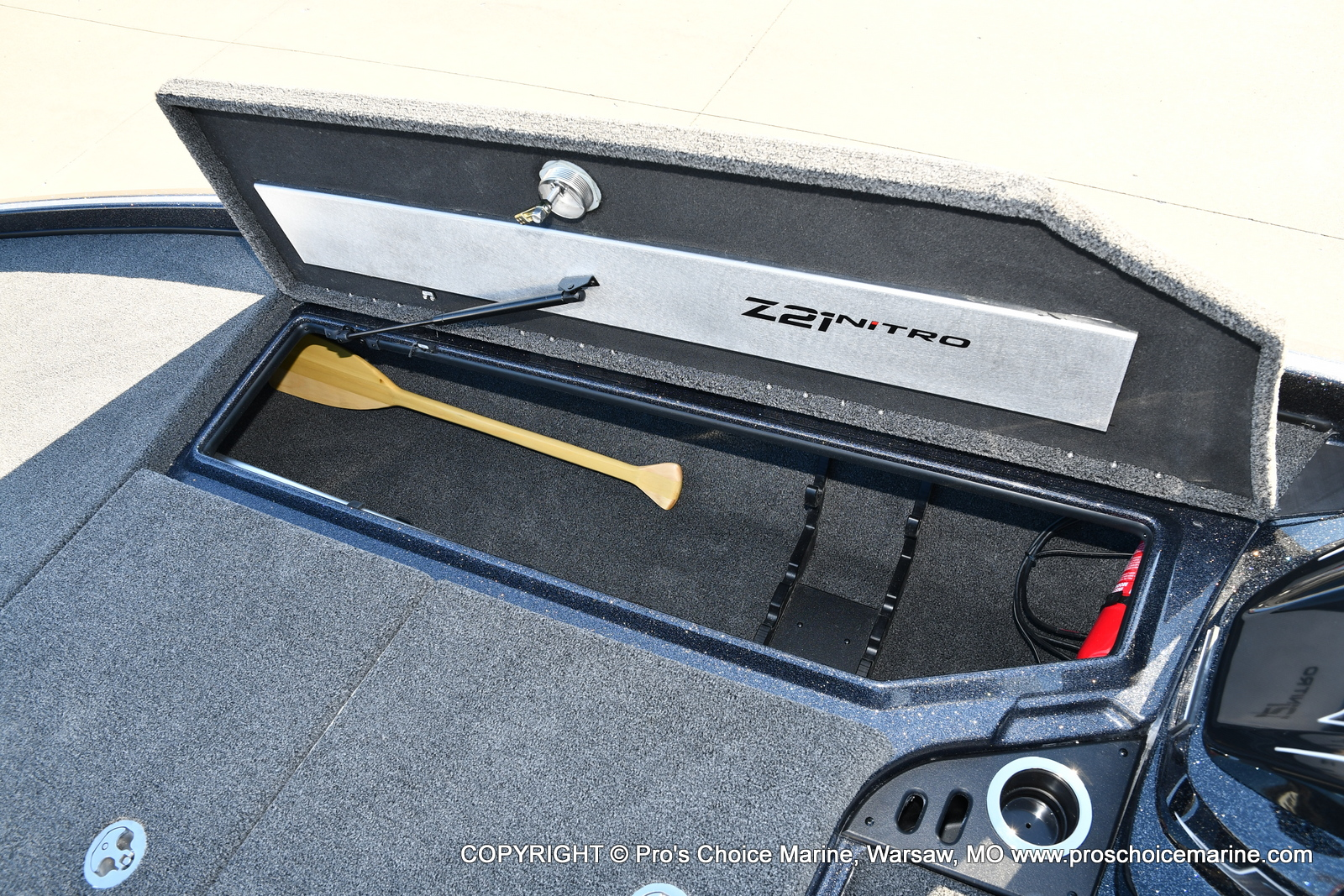 2021 Nitro boat for sale, model of the boat is Z21 Pro Package & Image # 9 of 50