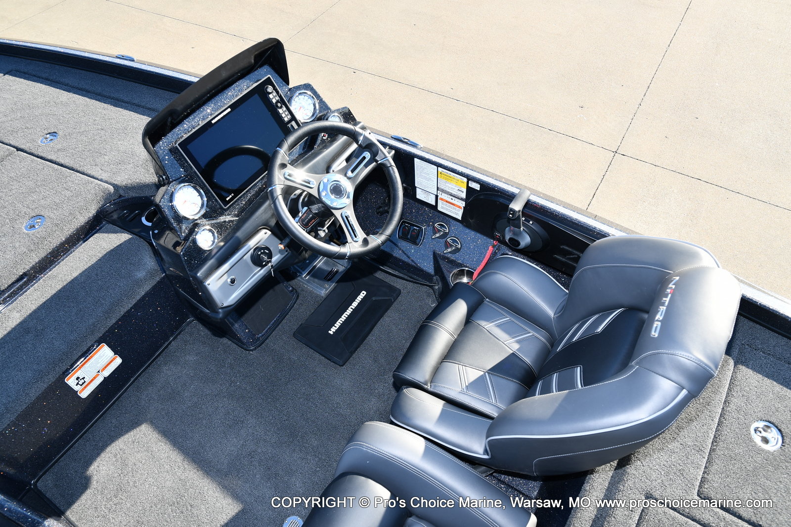 2021 Nitro boat for sale, model of the boat is Z21 Pro Package & Image # 41 of 50