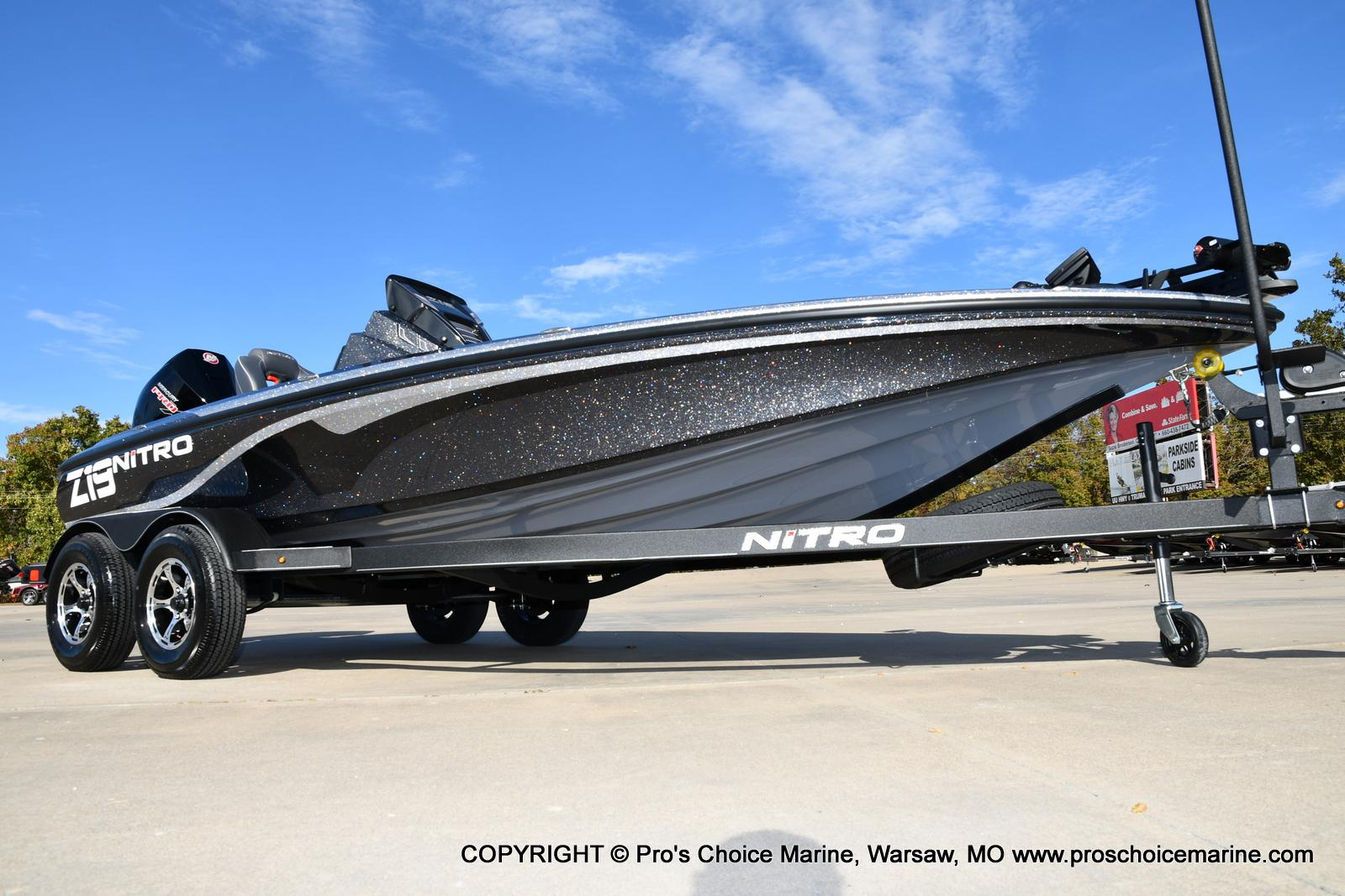 2021 Nitro boat for sale, model of the boat is Z19 pro package & Image # 17 of 50