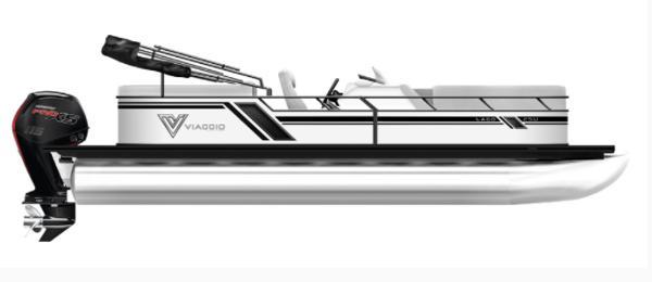 2021 Viaggio L22U  Tritoon with140Hp Suzuki