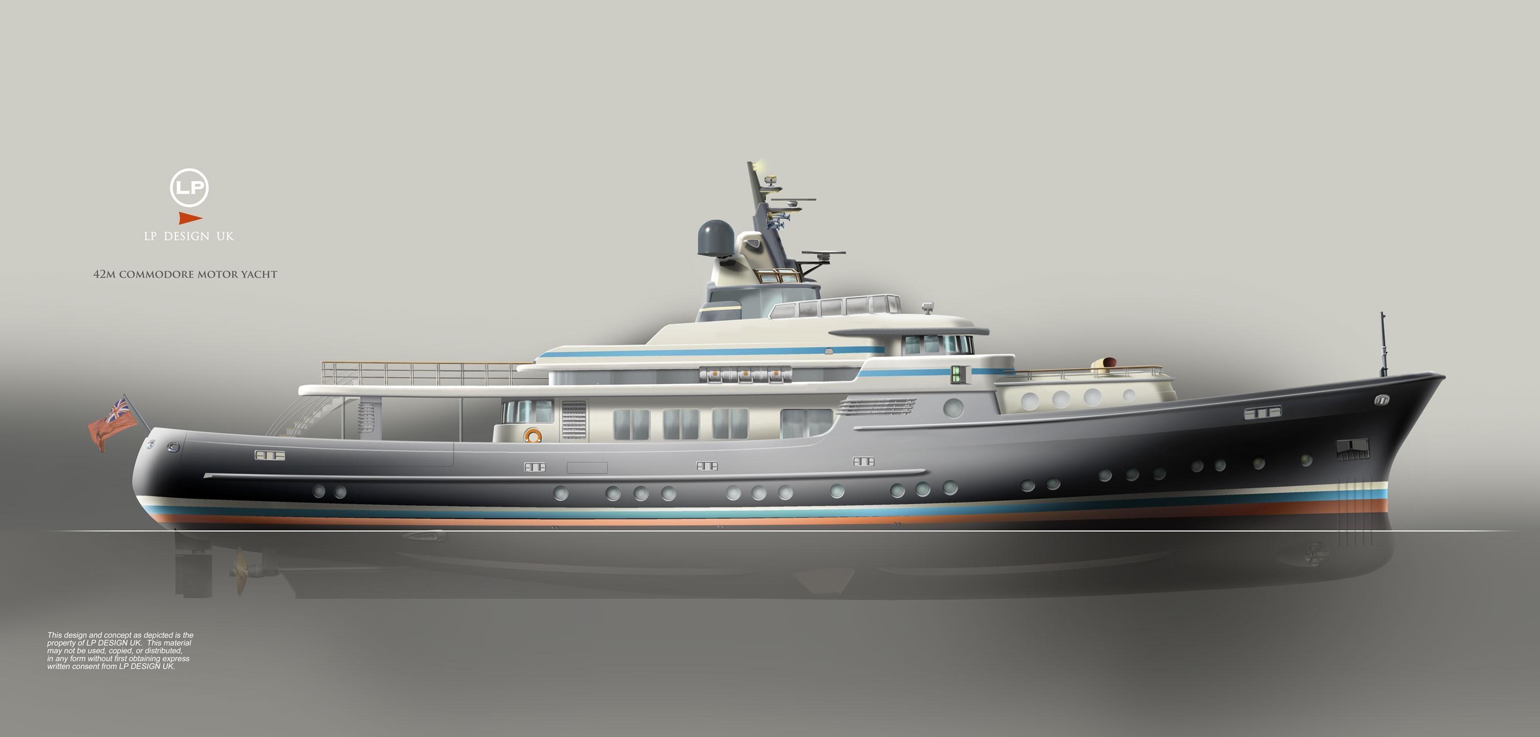 Motor Yacht Commodore