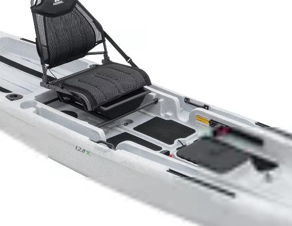 2021 Ascend boat for sale, model of the boat is 128X Yak-Power Sit-On & Image # 6 of 8