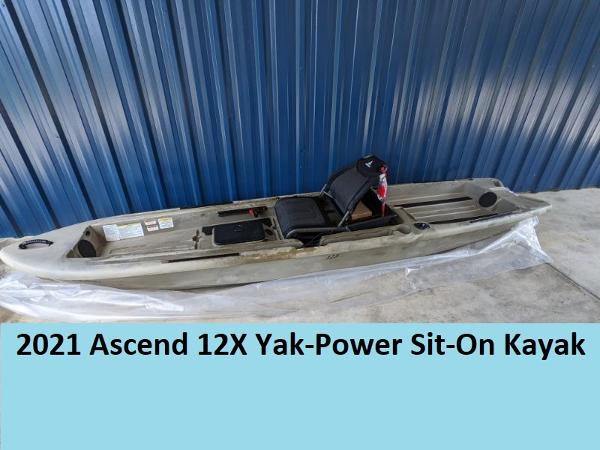 2021 Ascend boat for sale, model of the boat is 128X Yak-Power Sit-On & Image # 1 of 8