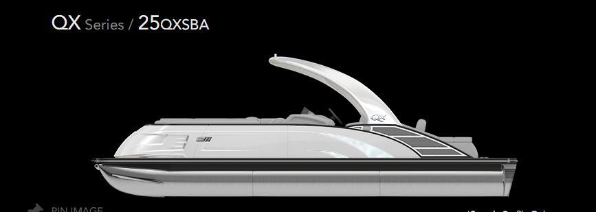 2021 Bennington 25 QXSBA #666032 inventory image at Sun Country Inland in Irvine