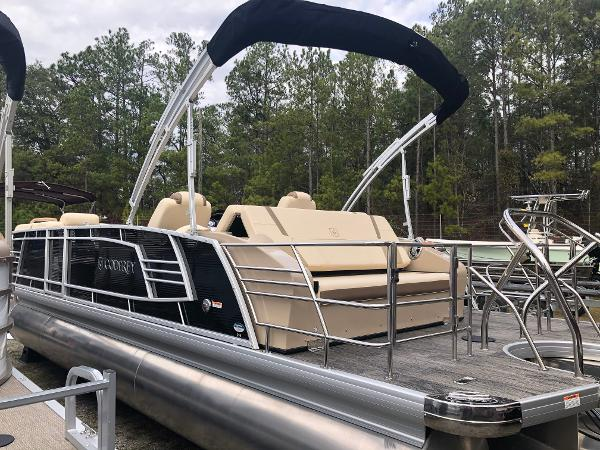 2020 Aqua Patio boat for sale, model of the boat is AP 259 Elite & Image # 7 of 28