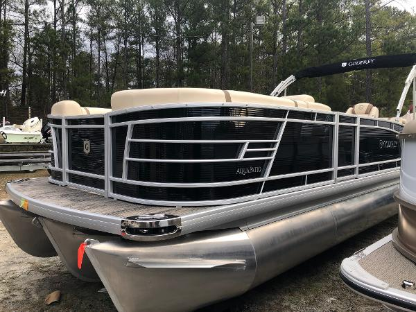 2020 Aqua Patio boat for sale, model of the boat is AP 259 Elite & Image # 8 of 28