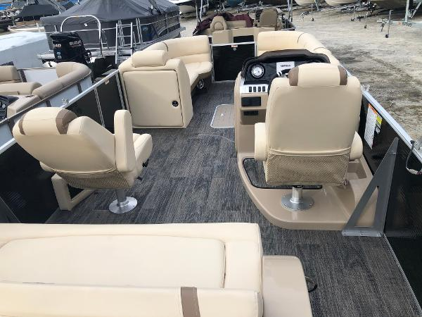 2020 Aqua Patio boat for sale, model of the boat is AP 259 Elite & Image # 10 of 28