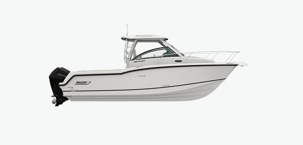 2021 Boston Whaler 285 Conquest #BW1320K inventory image at Sun Country Coastal in Newport Beach