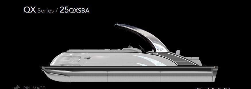 2022 Bennington 25 QXSBA #666033 inventory image at Sun Country Inland in Irvine