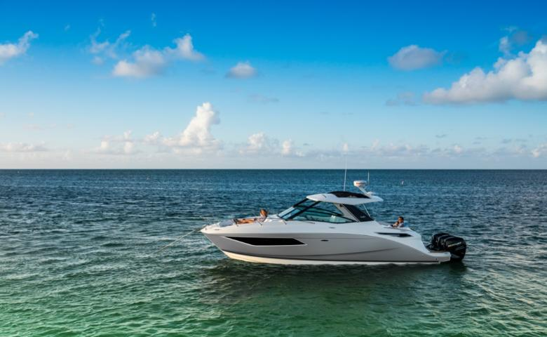 2021 Sea Ray Sundancer 320 OB #S2052C inventory image at Sun Country Coastal in Newport Beach
