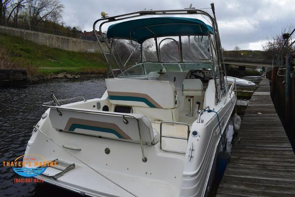 1996 Rinker boat for sale, model of the boat is Fiesta Vee 265 & Image # 2 of 62