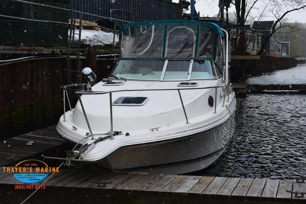 1996 Rinker boat for sale, model of the boat is Fiesta Vee 265 & Image # 62 of 62
