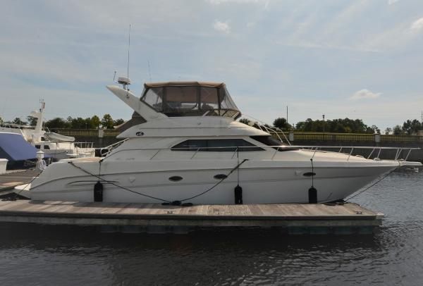45' Sea Ray 450 Express Bridge