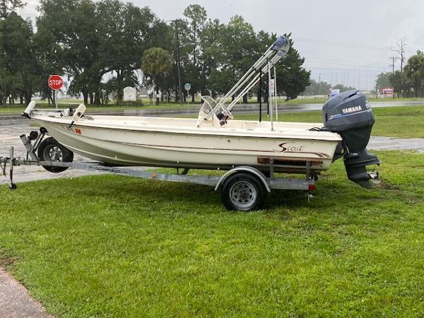 2001 Scout 177 Sportfish